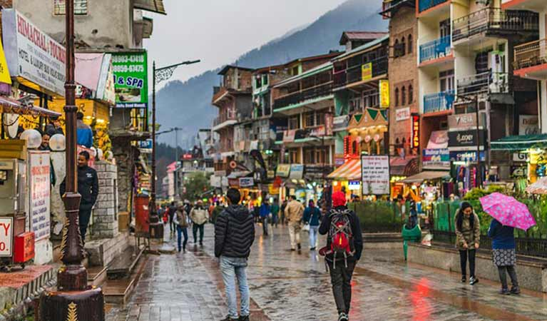 Manali By Bus